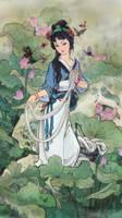 The Story of Xi Shi by a-thammasak