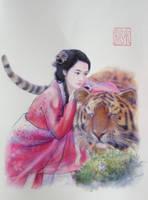 Happy Lucky Tiger's Year 2010 by a-thammasak