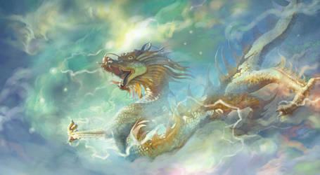 Dragon of San Bou Mao by a-thammasak