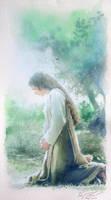 The Virgin's Pray by a-thammasak