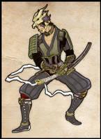FFXI: Samurai Style by seipherzero