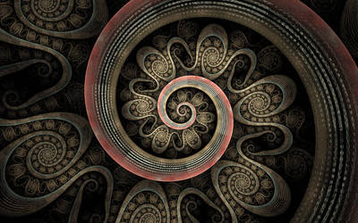 Spiral Mosaic by grinagog