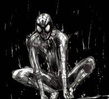 Wet Spidey by flashgirl101