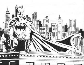 Batman ink by flashgirl101
