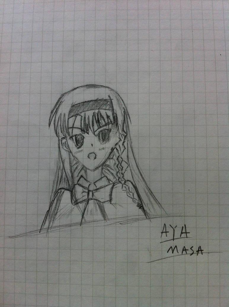 Aya Masa First Sketch by Jason-Jamey