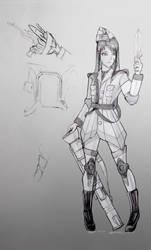 Sergeant Mio Concept 2 by Jason-Jamey