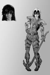 Aya 'Masa' Masayoshi Lady Justice Form by Jason-Jamey