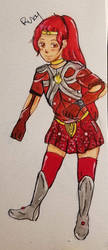 Magical Girl Aether- Fire Ruby by Jason-Jamey