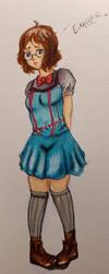 Magcial Girl Aether- Ember Kohaku by Jason-Jamey