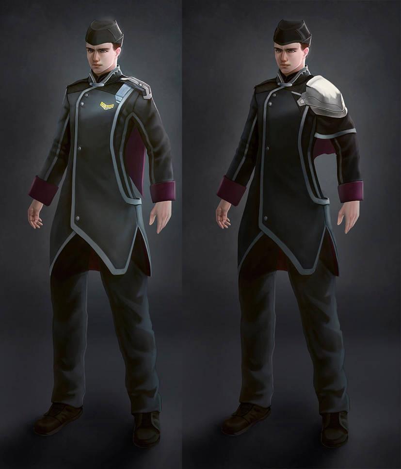 AMF Officer Uniforms by Jason-Jamey