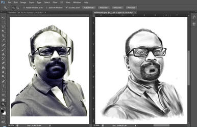 Sketchy Portrait by yanchadrex