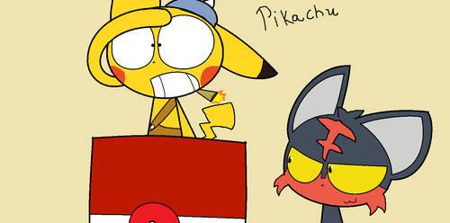 Pikachu by drawscute1836