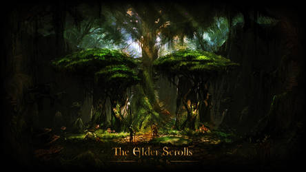 The Elders Scrolls Online Wallpaper by NIHILUSDESIGNS