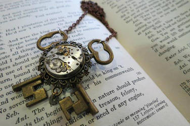 SteampunkChile 8 0 Steampunk Necklace by SteampunkChile 0b7a0f41348b