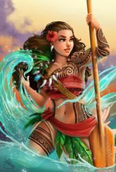 Battleready Moana by Ataraxicare