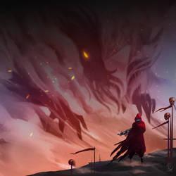 Sandwalker [Comm] by Ataraxicare