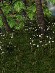 Jungle Flowers Stock by vatorx