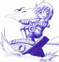 One Piece - Nami by Nami-Blue