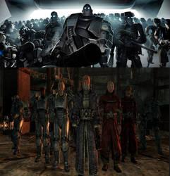Robot Army vs Brotherhood of Steel by userup