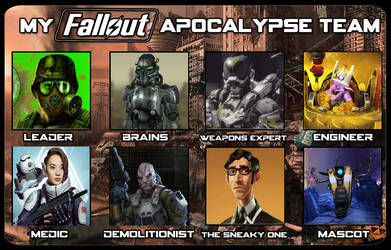 Fallout Apocalypse Team by userup