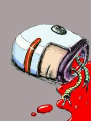 The Head of Robocop by chaitanyak