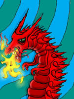 Fugly Red Dragon by chaitanyak
