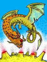 Flying dragon by chaitanyak