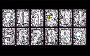Engraved Toxic Head numbers by chaitanyak