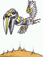 robo bird1 by chaitanyak