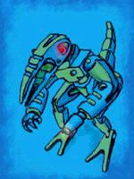 robo walker2 by chaitanyak