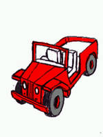 red jeep by chaitanyak