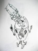weird robot1 by chaitanyak