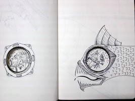 flight sketch 2 by chaitanyak