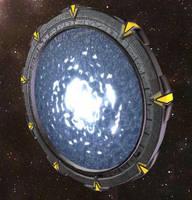 Space Gate by chaitanyak