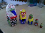 Russian Doll Mod - Robots by chaitanyak