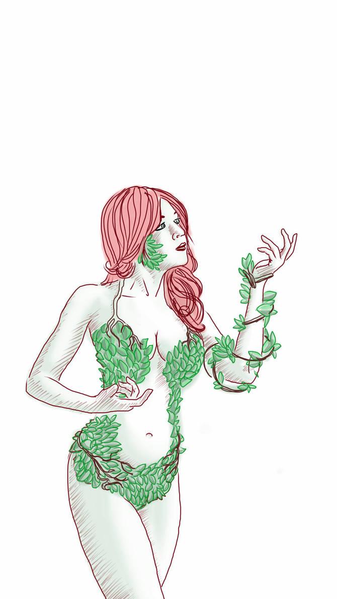 Poison Ivy by chaitanyak