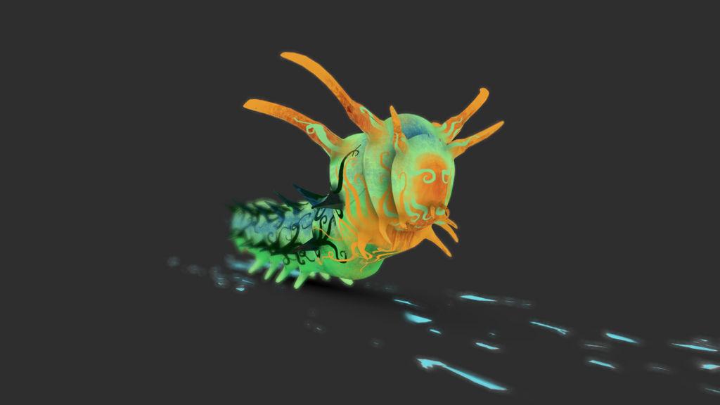 Npr Horned Devil Caterpillar by chaitanyak