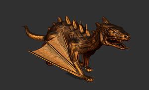 Dino Dragon by chaitanyak