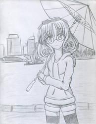 +Fuu Hououji+ Fan art by Sakamoto-chi