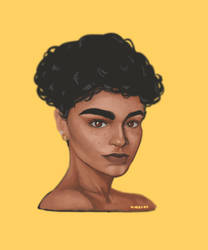 Photo Study: Aiyana Lewis by squeeglylines
