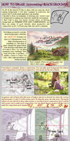 how to draw (interesting) backgrounds by Ithilloth