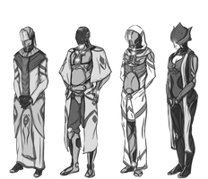 Warframe - Orokin era designs by StallordD