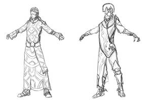 Warframe - Orokin era designs 2 by StallordD