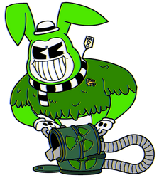 The Toxic Lord in the: Radioactive Throwdown (Req) by TheRealBoredDrawer