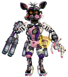 Scrap Foxy by TheRealBoredDrawer