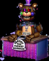Ticket Freddy by TheRealBoredDrawer