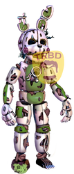 Funtime Springtrap by TheRealBoredDrawer