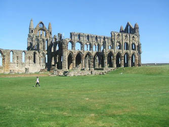 Whitby Abbey Ruins... again by CHAERG-Major