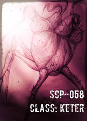 Edited SCP-058 (Heart of darkness) by HollowX4000
