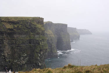 Rainy day - Cliffs of Moher by Cilmeron